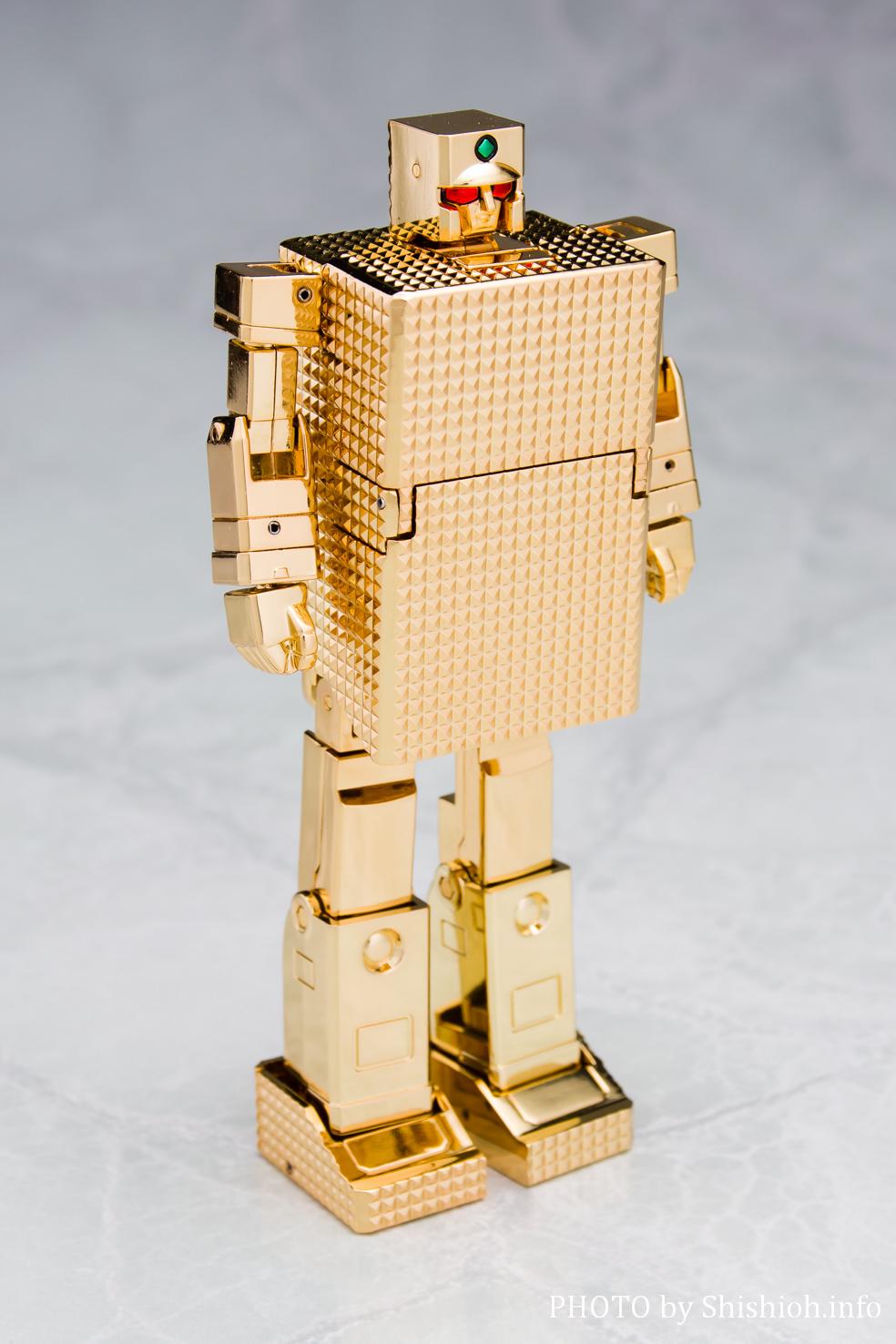 超合金魂 GX-32G24 ゴールドライタン 24金メッキ仕上げ