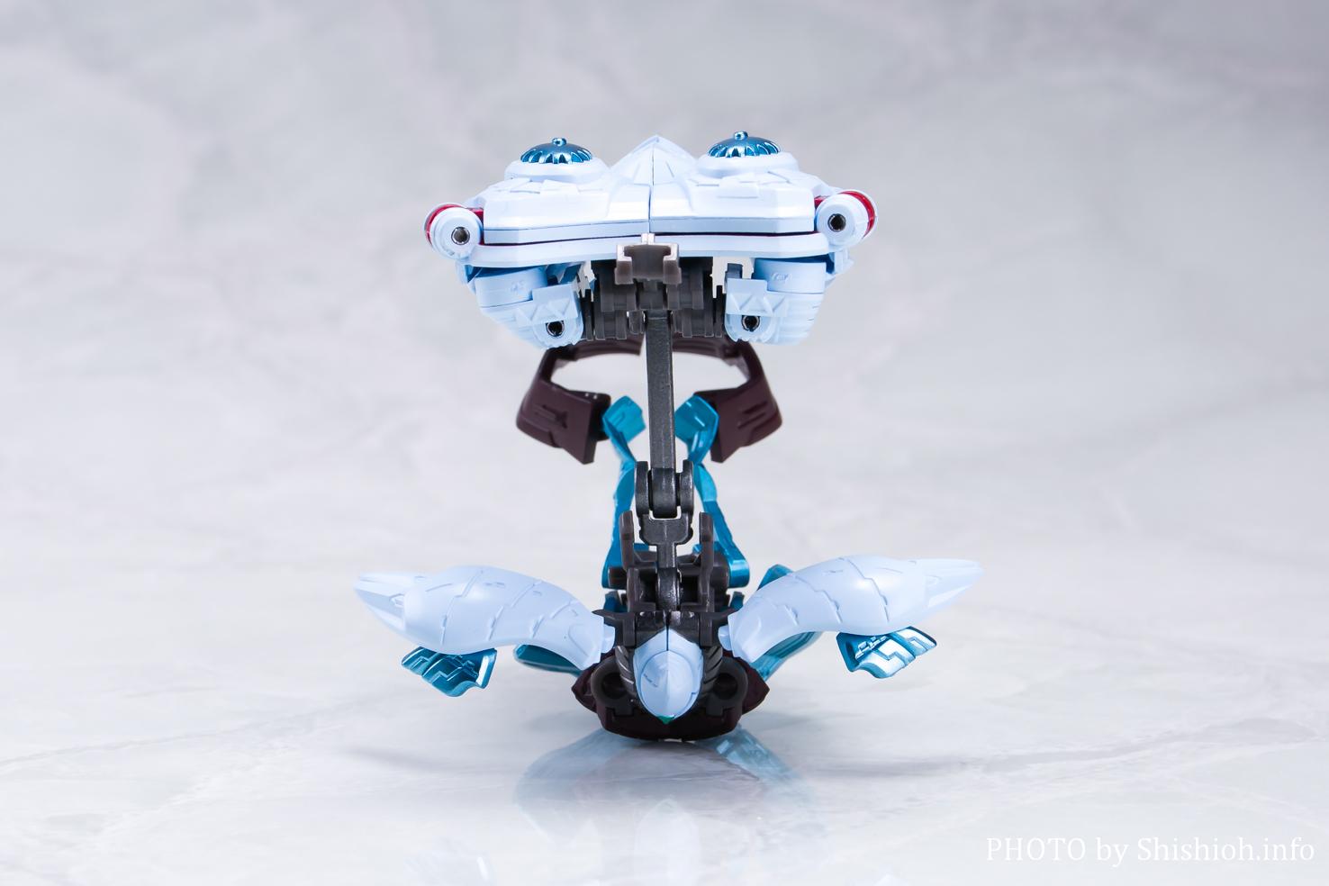 超合金魂 GX-87 ゲッターエンペラー(合体ギミック)