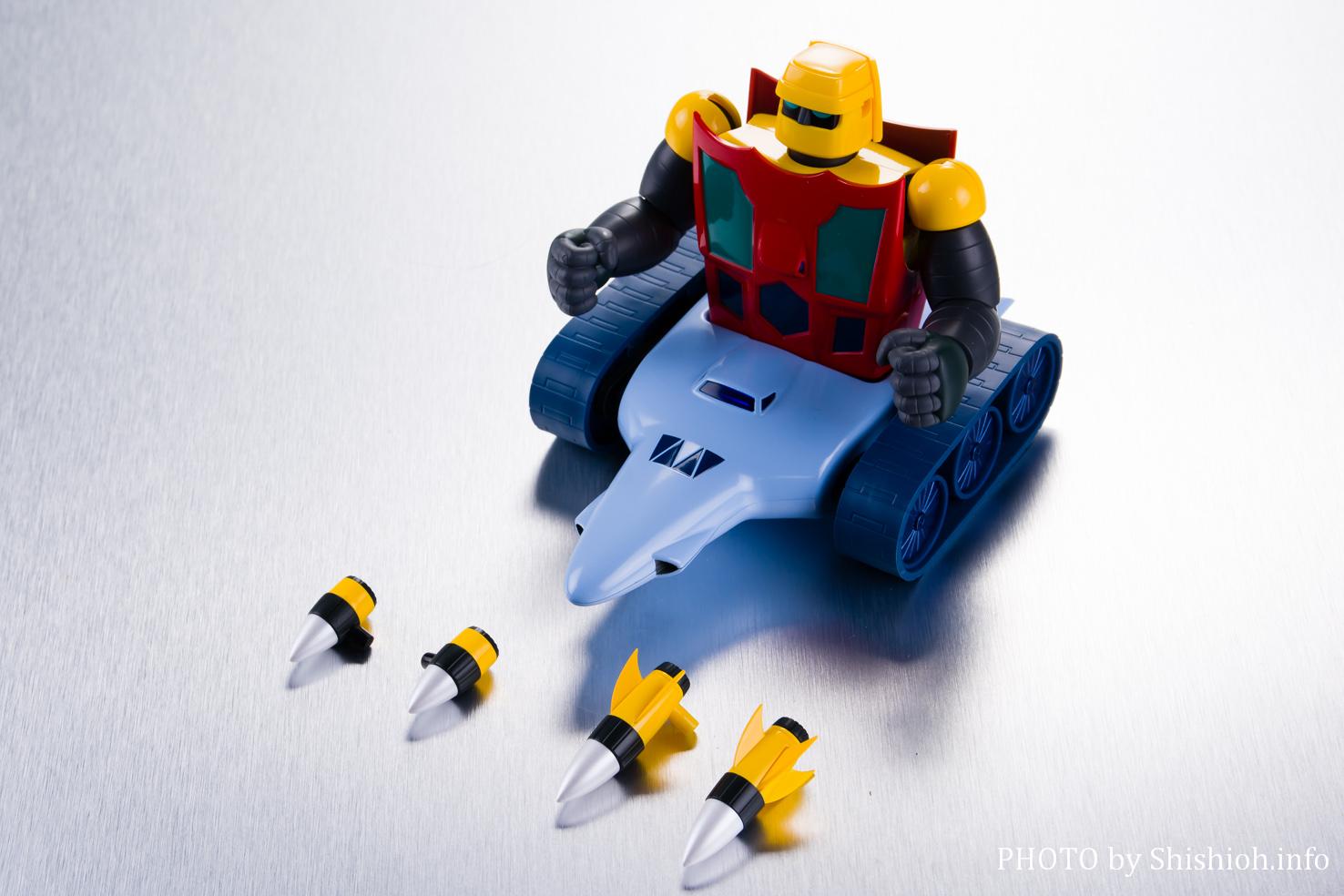 超合金魂 GX-91 ゲッター2&3 D.C.パート2