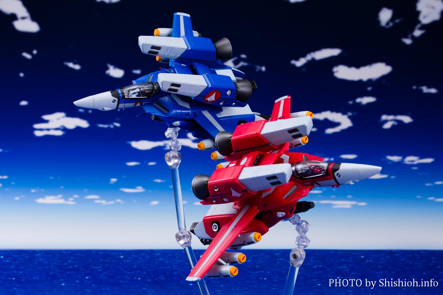 HI-METAL R VF-1J スーパーバルキリー(ミリア・ファリーナ・ジーナス機)