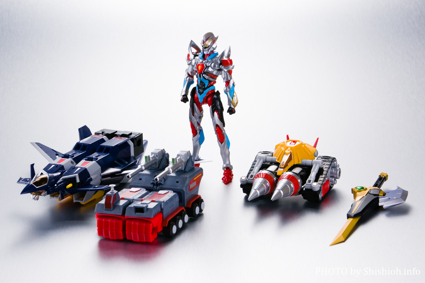 超合体超人 DXフルパワーグリッドマン(フル合体)