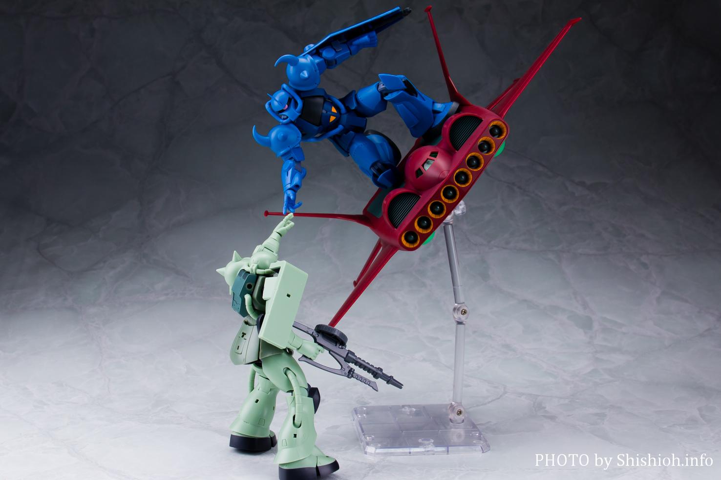 ROBOT魂〈SIDE MS〉ド・ダイYS&グフ オプションセット ver. A.N.I.M.E.