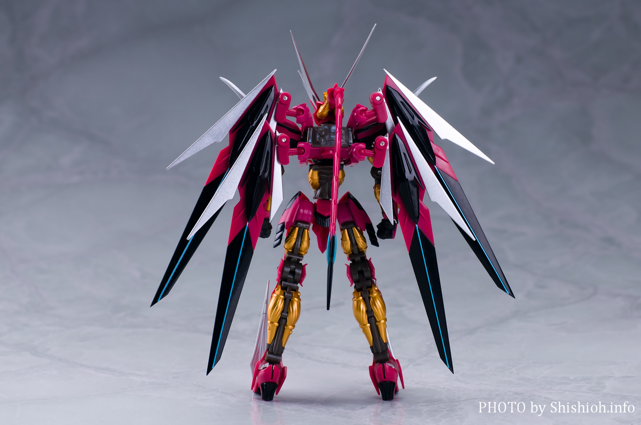 ROBOT魂 <SIDE RSK> 龍神器 試作零式 焔龍號