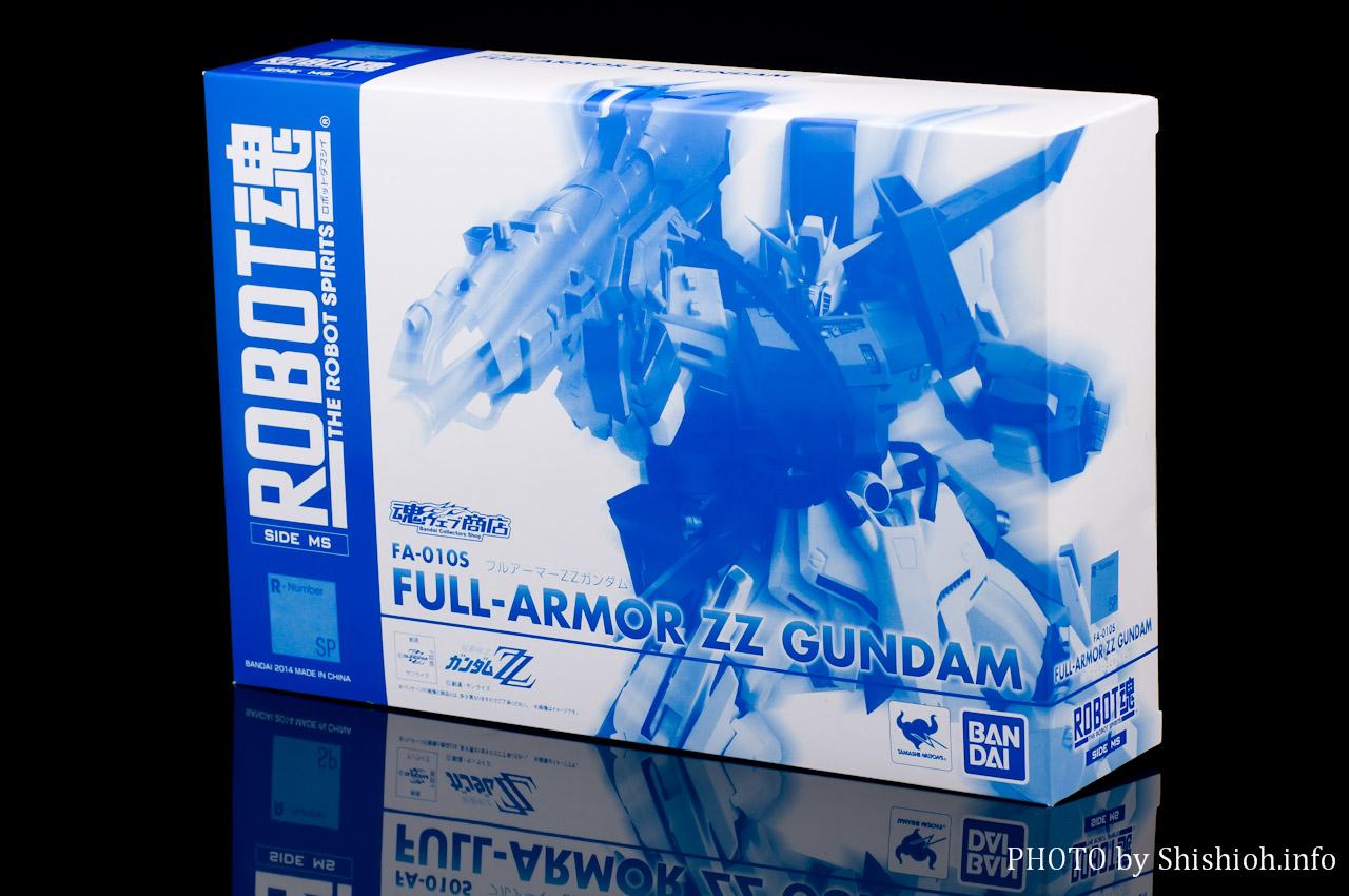 ROBOT魂 FA-010S フルアーマーZZガンダム