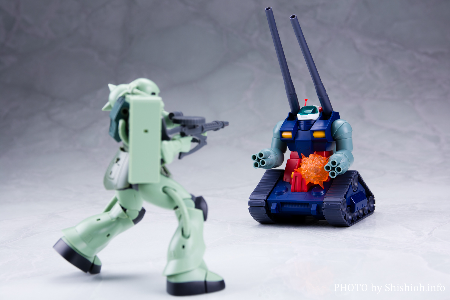 ROBOT魂〈SIDE MS〉RX-75-4 ガンタンク&ホワイトベースデッキ ver.A.N.I.M.E.