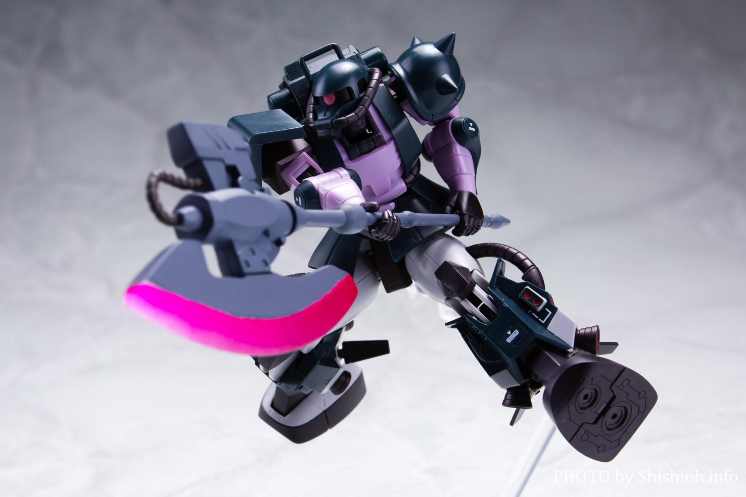 ROBOT魂 <SIDE MS> MS-06R-1A 高機動型ザクII ver. A.N.I.M.E.〜黒い三連星〜
