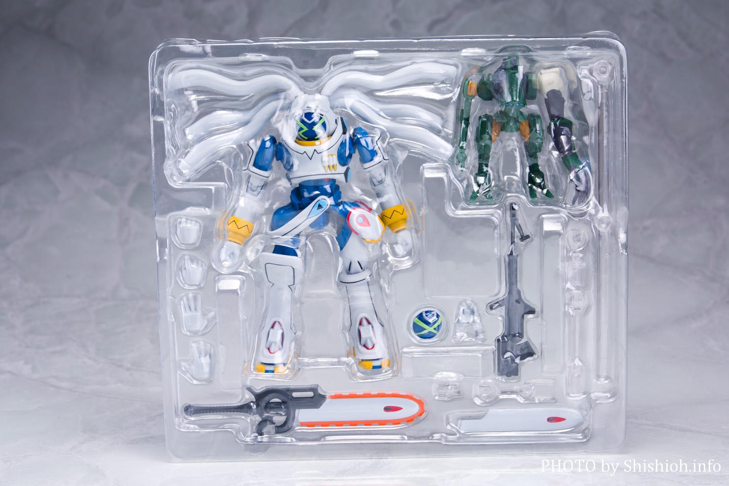 ROBOT魂 <SIDE OM> キングゲイナー&ガチコ