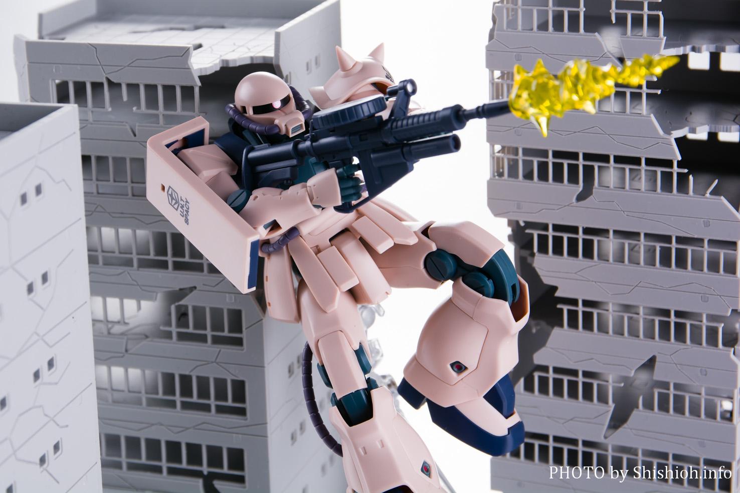 ROBOT魂 <SIDE MS>MS-06F-2 ザクII F2型連邦軍仕様 ver. A.N.I.M.E.