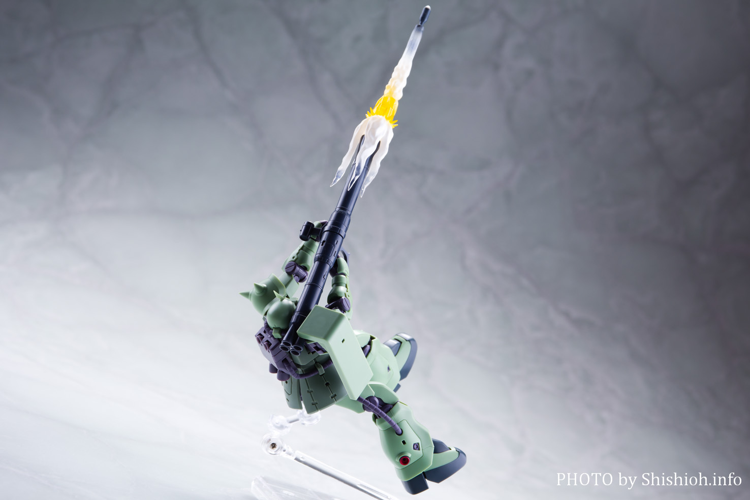 ROBOT魂<SIDE MS> MS-06F-2 ザクII F2型 ver. A.N.I.M.E.
