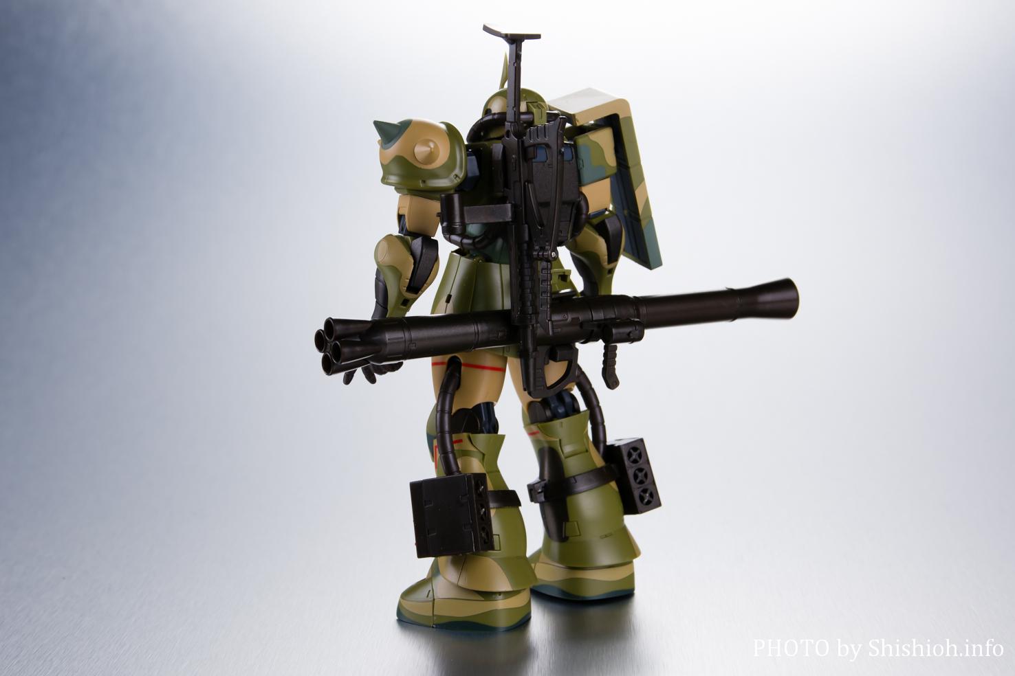 ROBOT魂 〈SIDE MS〉 MS-06J 湿地帯戦用ザク ver. A.N.I.M.E.