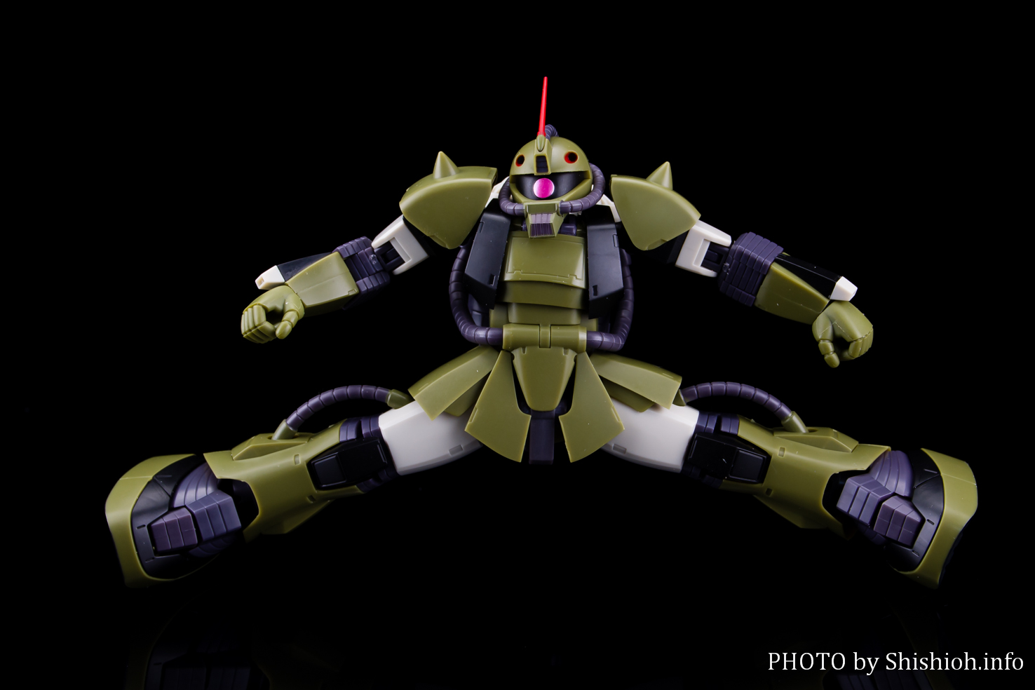 ROBOT魂〈SIDE MS〉MS-06M 水中用ザク ver. A.N.I.M.E.