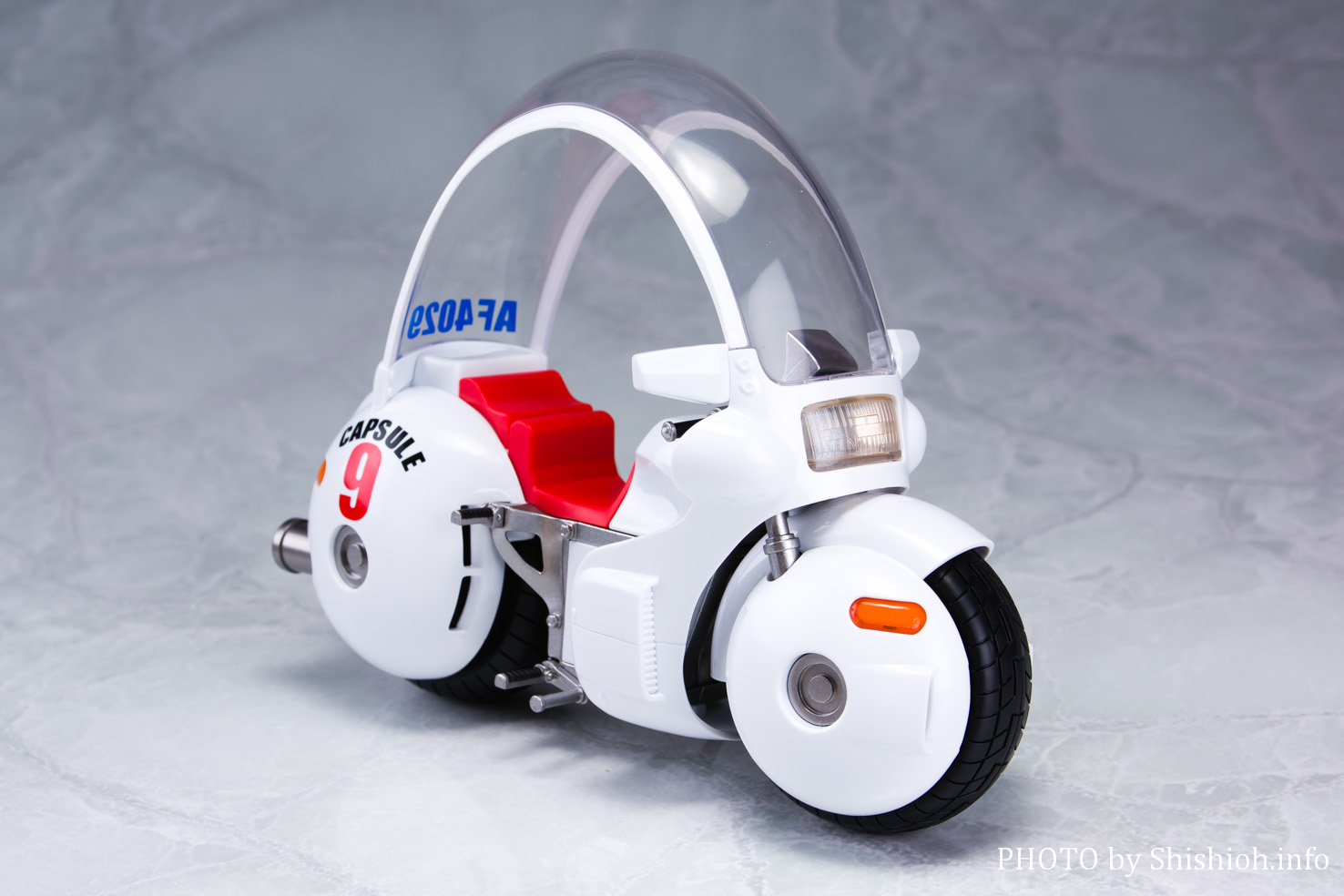 S.H.Figuarts ブルマのバイク-ホイポイカプセル No.9-