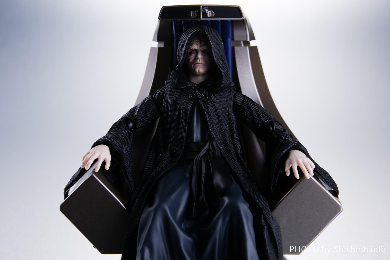 S.H.Figuarts パルパティーン皇帝‐Emperor's Throne Set‐パート1