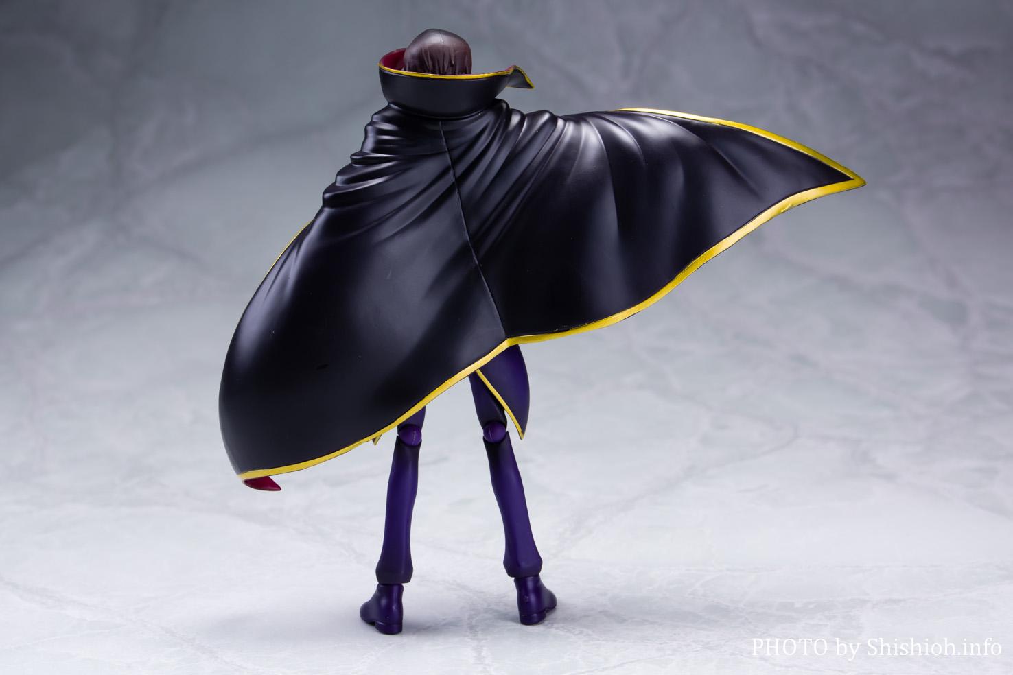 S.H.Figuarts ルルーシュ・ランペルージ(ゼロ R2衣装)
