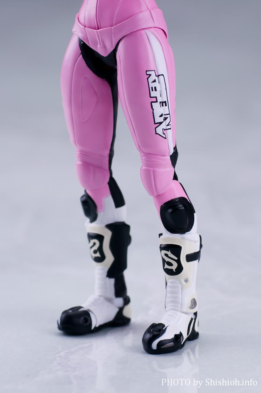鈴乃木凜(ライダースーツ)&GSX400S KATANA