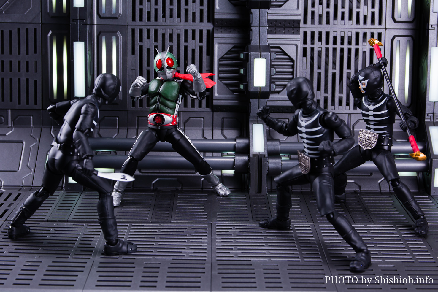 S.H.Figuarts ショッカー戦闘員(骨)