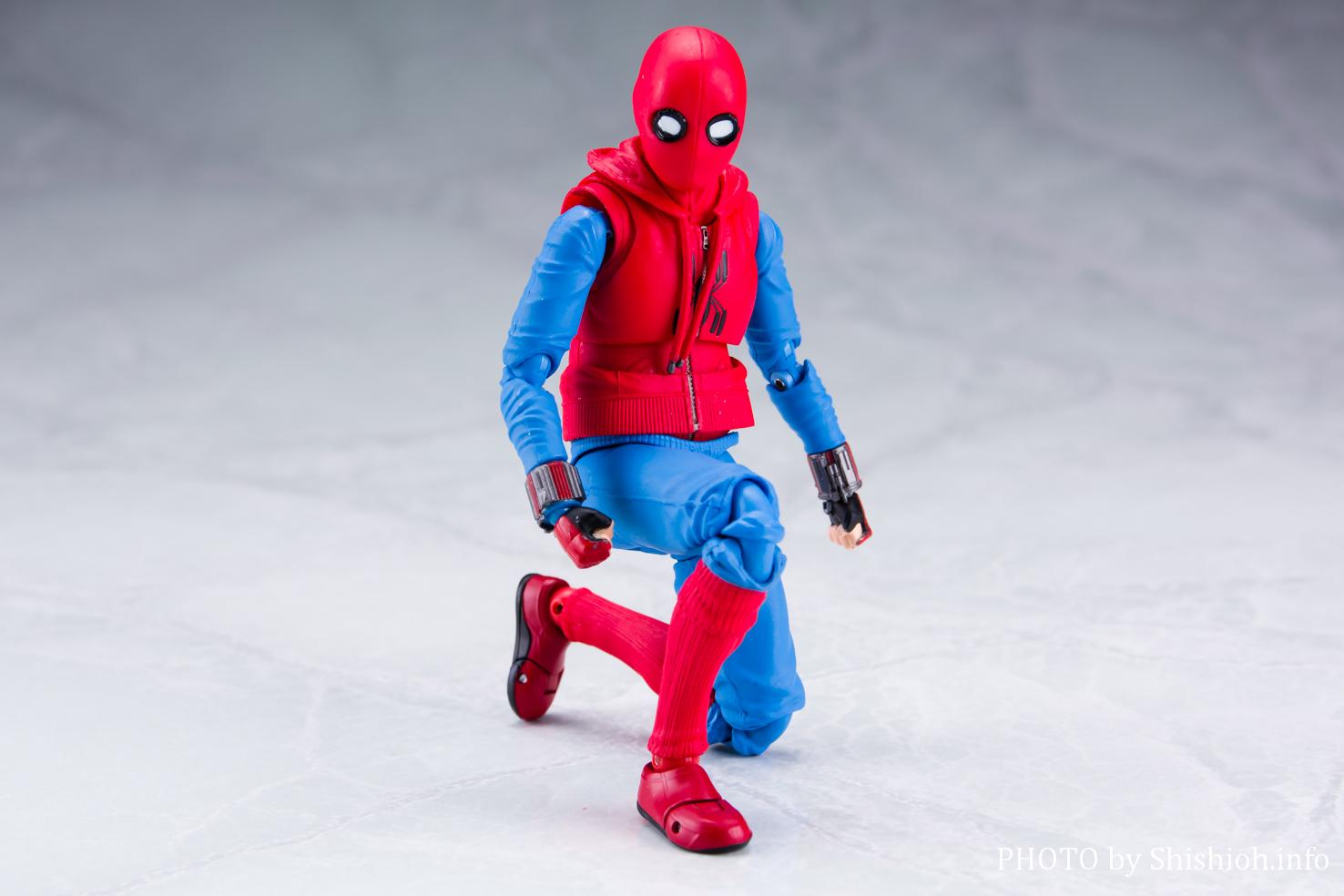 S.H.Figuarts スパイダーマン(ホームカミング) ホームメイドスーツver. &アイアンマン マーク47