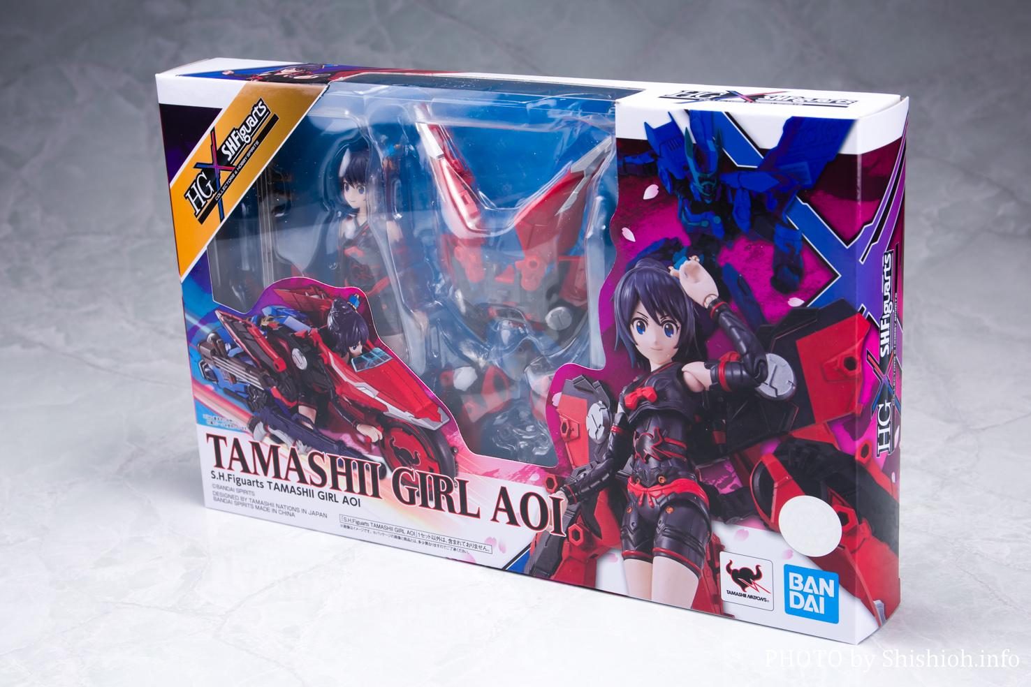 S.H.Figuarts TAMASHII GIRL AOI