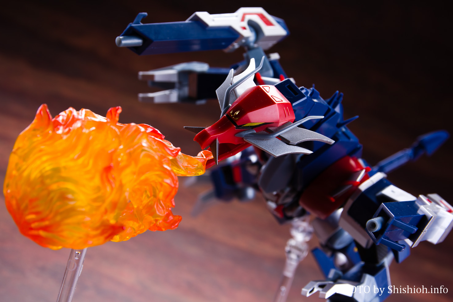 スーパーミニプラ 忍者戦士 飛影Vol.3 爆竜