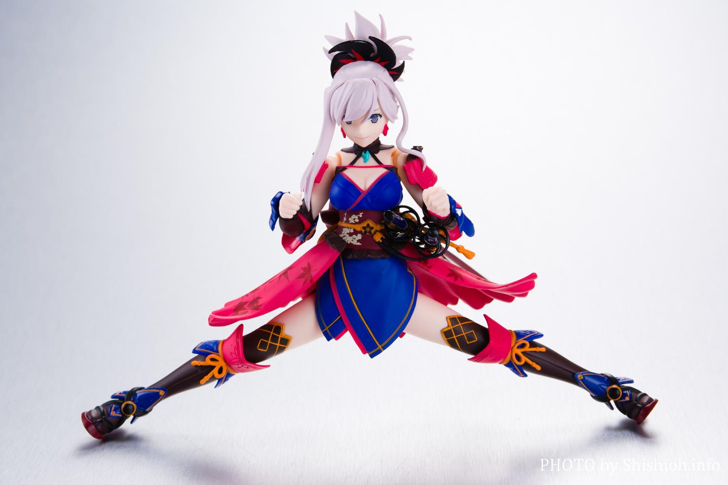 figma 437 セイバー/宮本武蔵